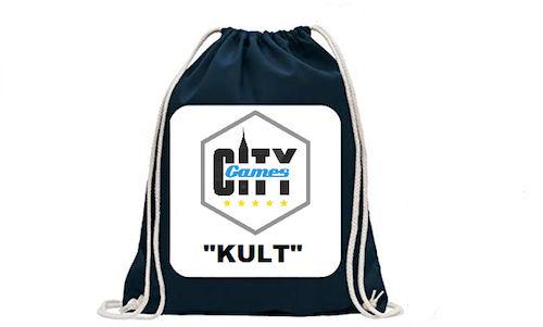 CityGames Flensburg JGA Männer Tour: Backpack Sportbeutel mit Füllung für die Tour