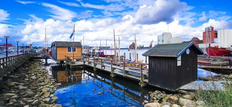 CityGames Flensburg JGA Frauen Tour: Rätsel Missionen Stadterkundung Party-Spaß Hafen Boote