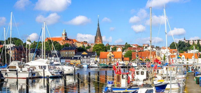 CityGames Flensburg Student Tour: Flensburg Schiffe Boote Hafen Stadtführung Tablet