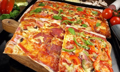 CityGames Flensburg JGA Männer Tour: Pizza-Party All you can eat Junggesellenabschied Tour