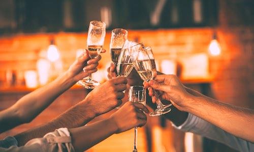 CityGames Flensburg JGA Frauen Tour: Sektempfang oder lieber Bier oder Softdrink